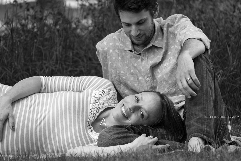 Maternity photography in Clarksville, TN | D. Phillips Photography