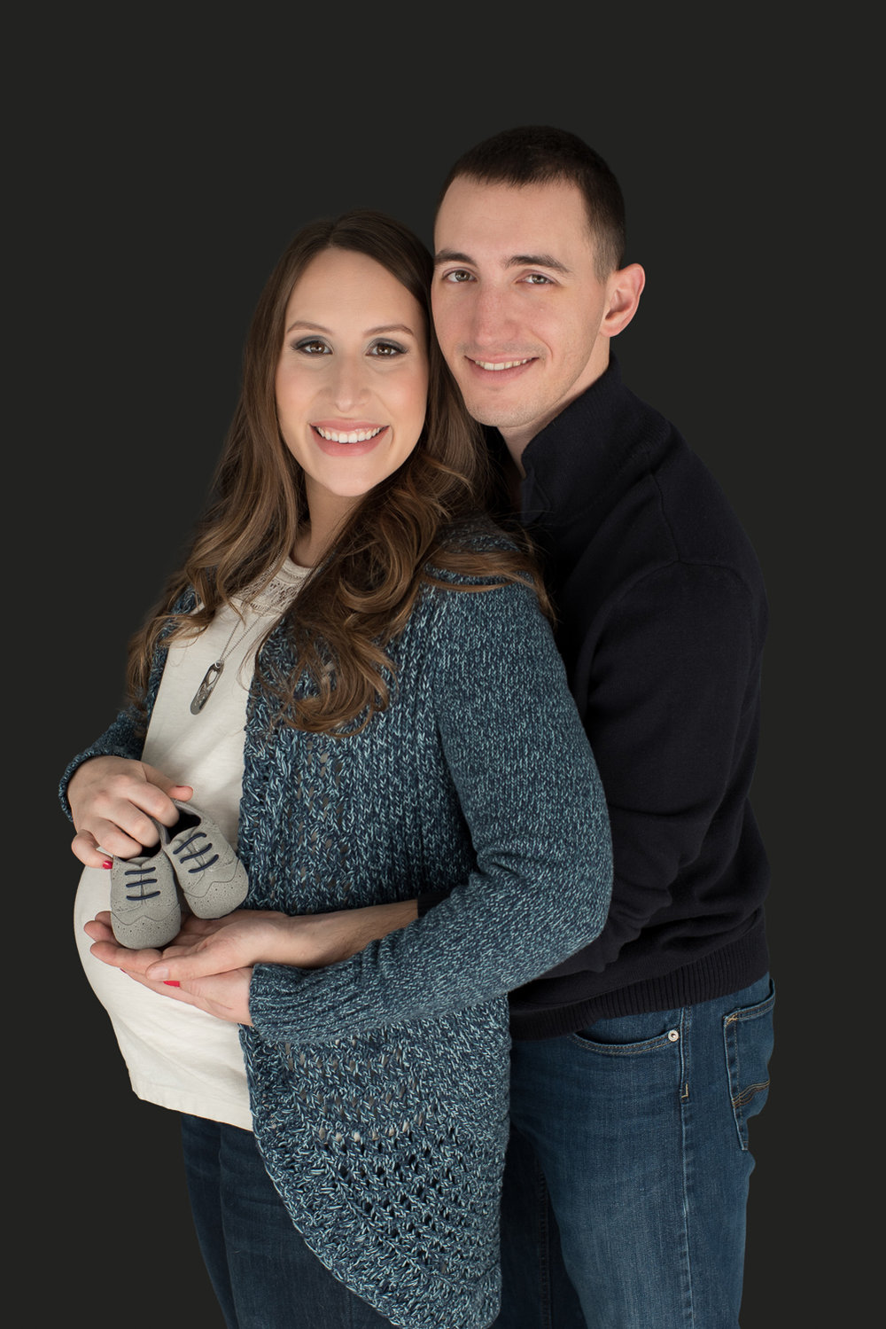 Couples Maternity Photos in Clarksville with D. Phillips Photography