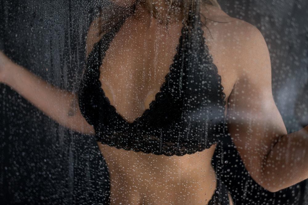 Shower Classy Boudoir D. Phillips Photography