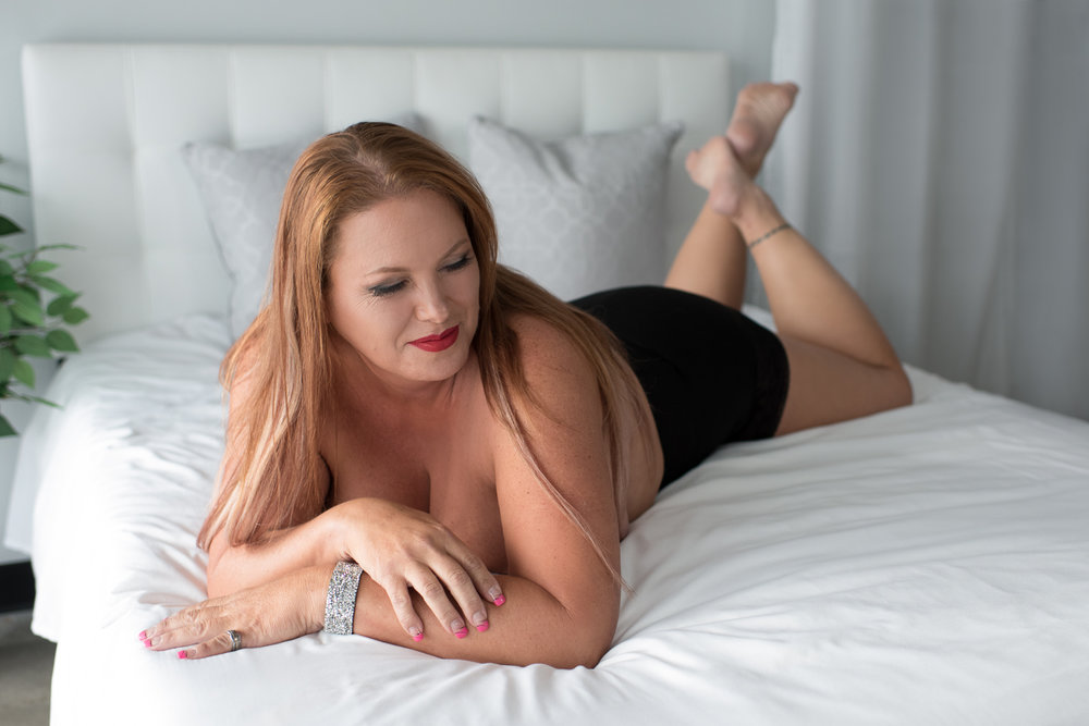 Boudoir Bedroom Session in Tennessee