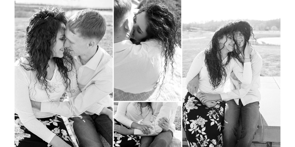 Clarksville Engagement Photos and Fine Art Album by D. Phillips Photography