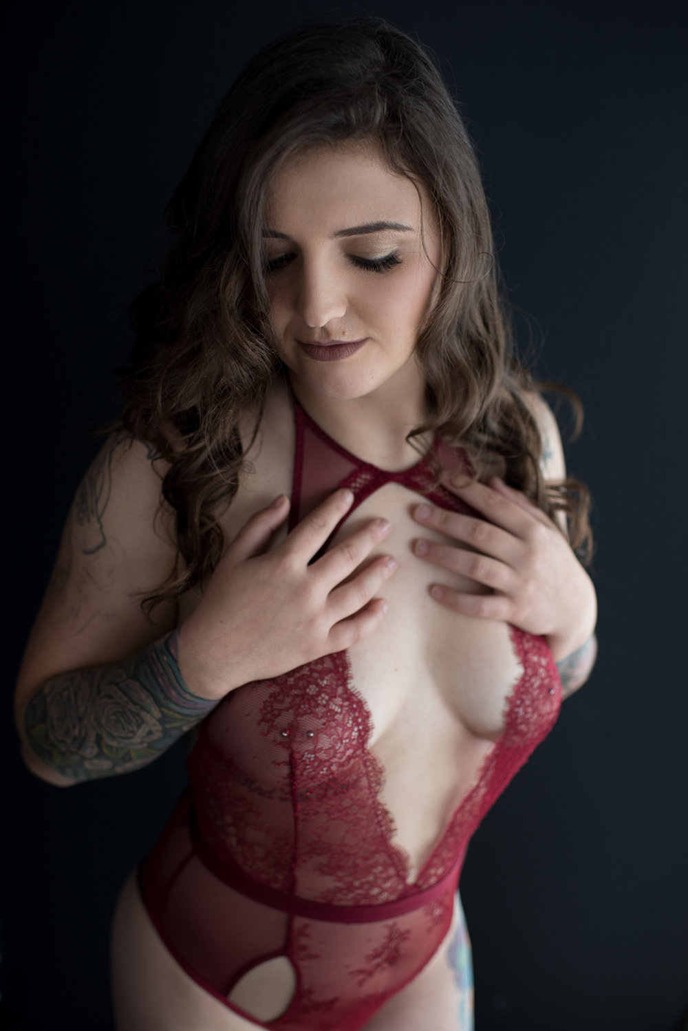 Tattoo Boudoir in Fort Campbell Kentucky - D. Phillips Photography
