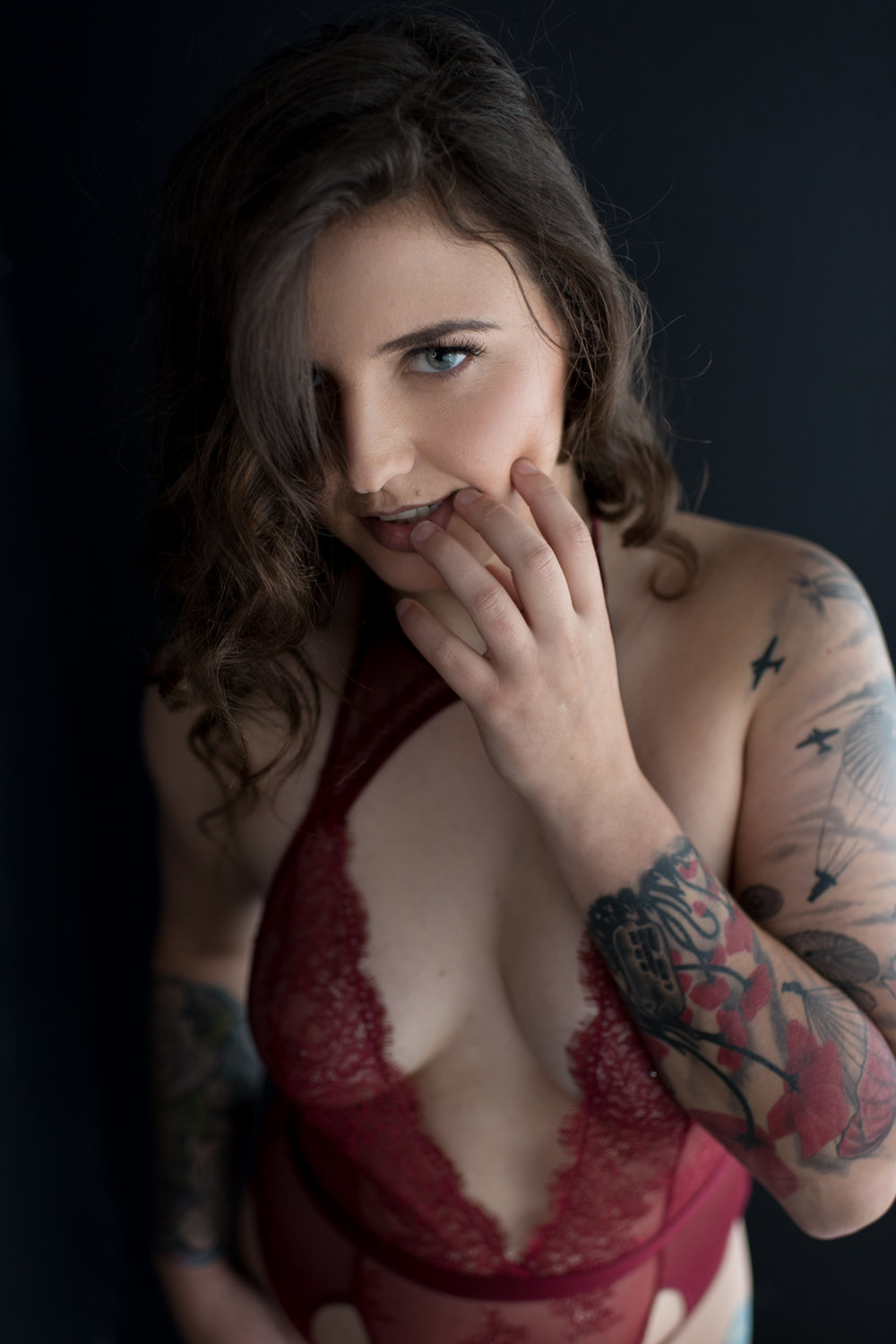 Tattoo Boudoir in Clarksville - D. Phillips Photography
