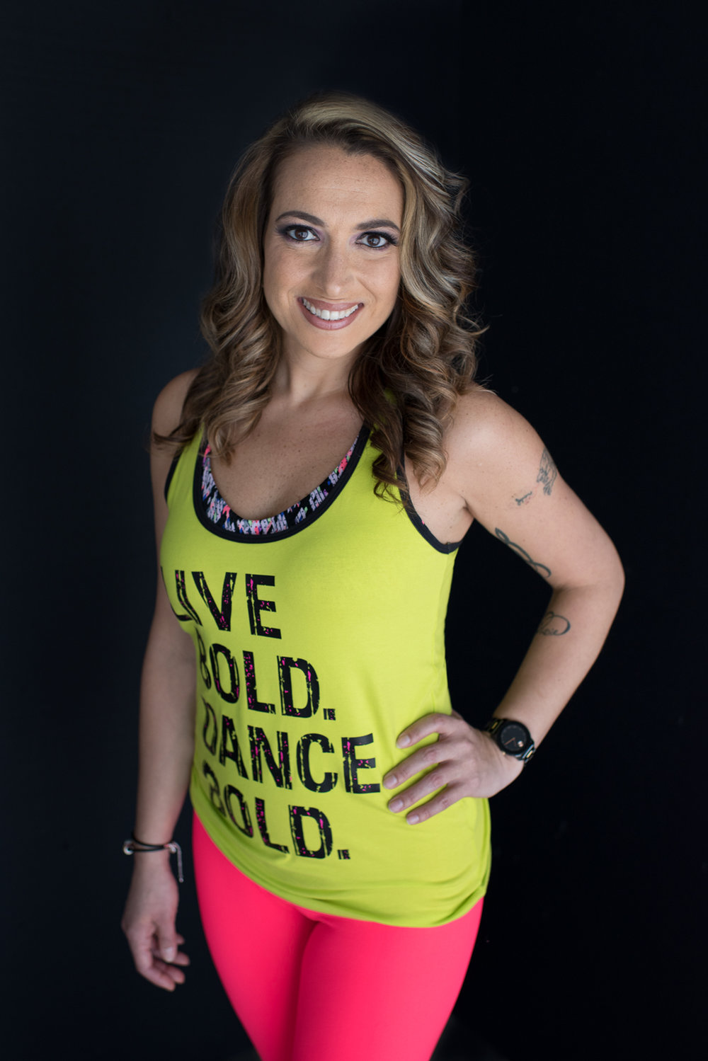 Fitness instructor headshots D. Phillips Photography