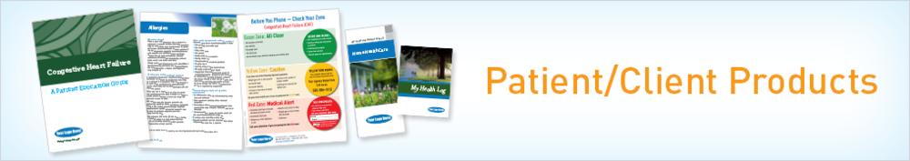 Patient/Client Products