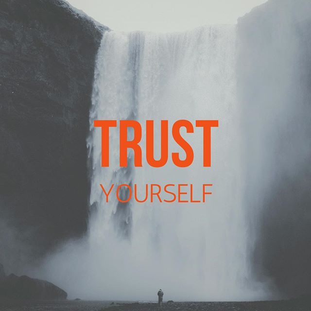 Trust yourself. . . Not everyone sees the way you see. Not everyone will understand what you do or how you do it. . . Don't doubt that you have something great to give. . . Disengage from people who will steal away your much-needed energy and surround yourself with wise, honest and supportive friends who will walk the journey with you.  You can do this!  Boom! 🤜🏼💥🤛🏼💯 #smallbusiness #bigdreams #buildit #steadygrowth #winning #entrepreneur #thrive #thrivelife