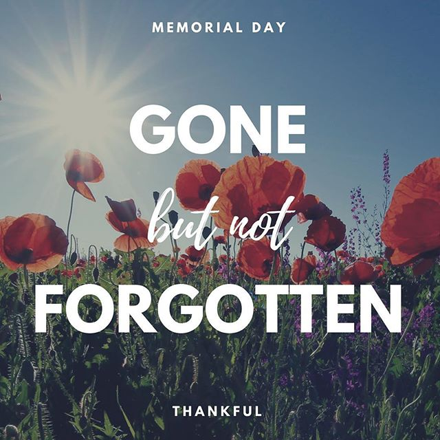 Stopping to reflect on the freedoms  I enjoy today at the cost of their sacrifice and their family's sacrifice. . . . #gonebutnotforgotten #thankful #familysacrifice #rememberthefallen #nogreaterlove #memorialday2018 #proudtobeanamerican