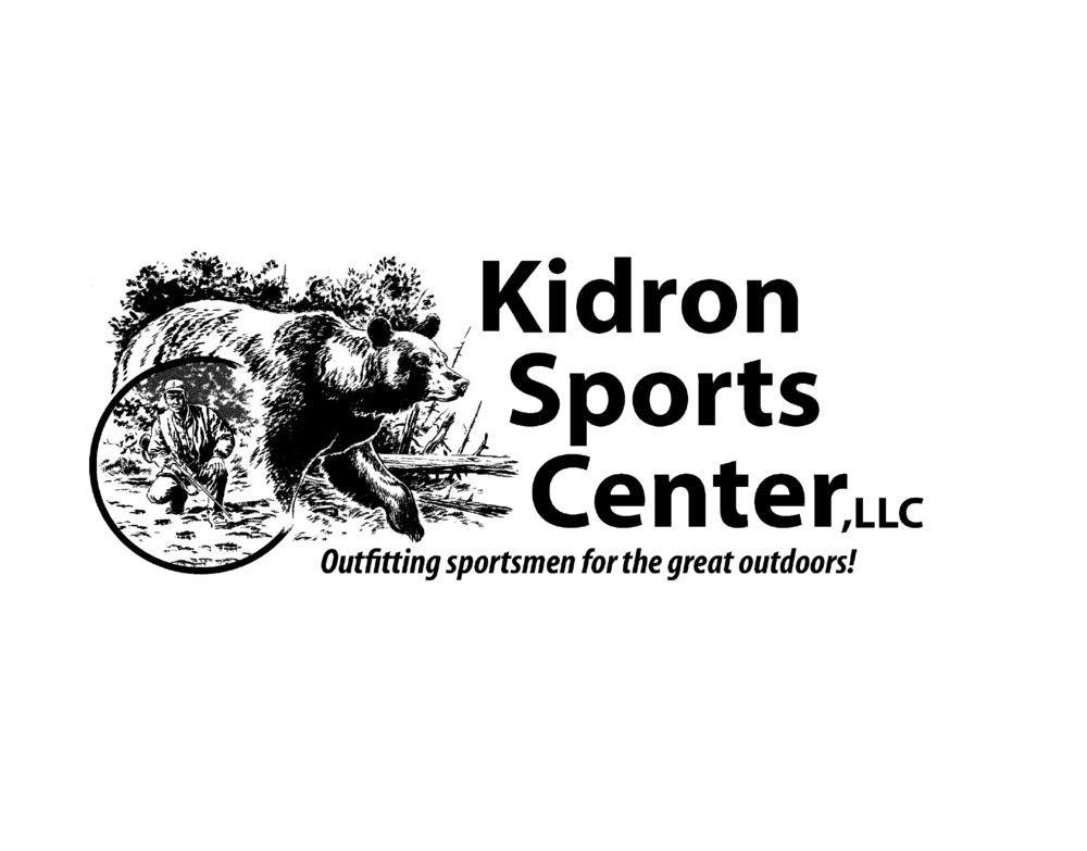 logo for Kidron Sports Center in Central Ohio