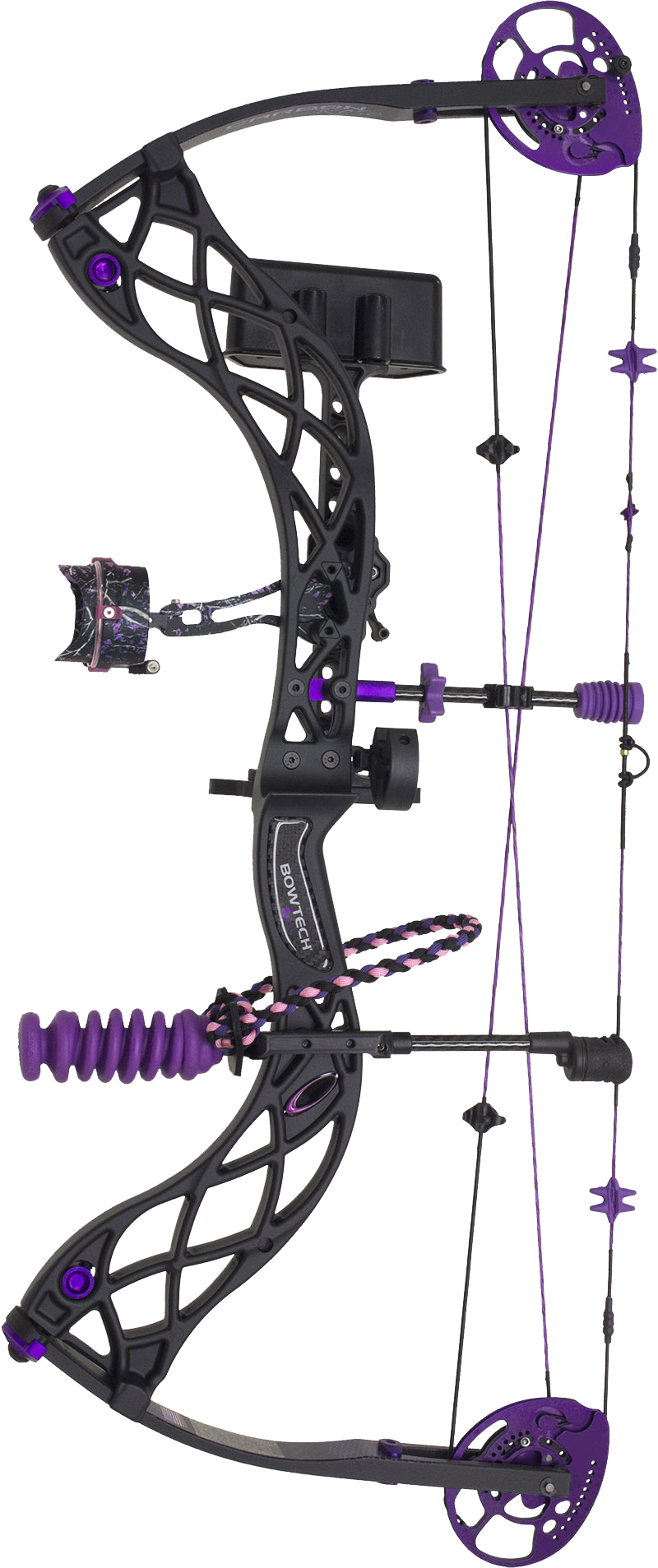 Carbon Rose purple compound bow for sale