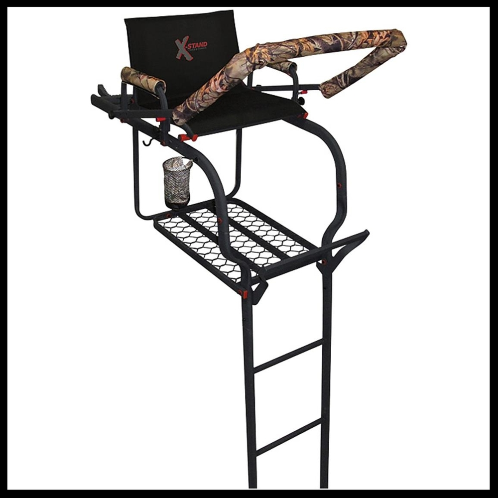 X-Stand Duke tree stand available at Kidron Sports Center in Ohio