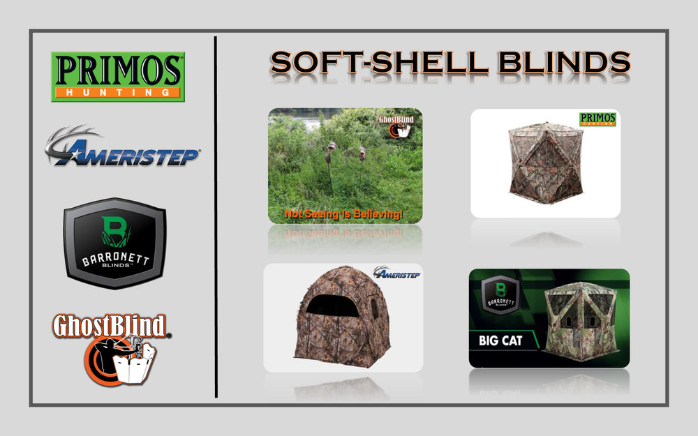 different brands of blinds available