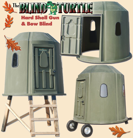 Blind Turtle blinds from retailer