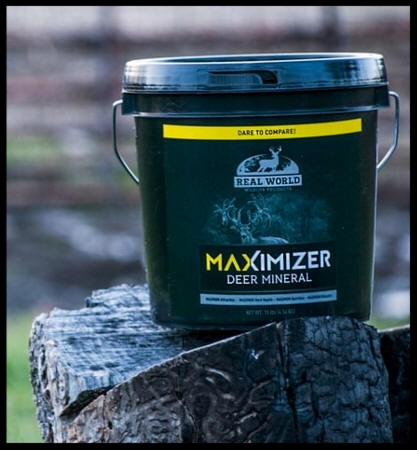 real world maximizer mineral 10lb bucket