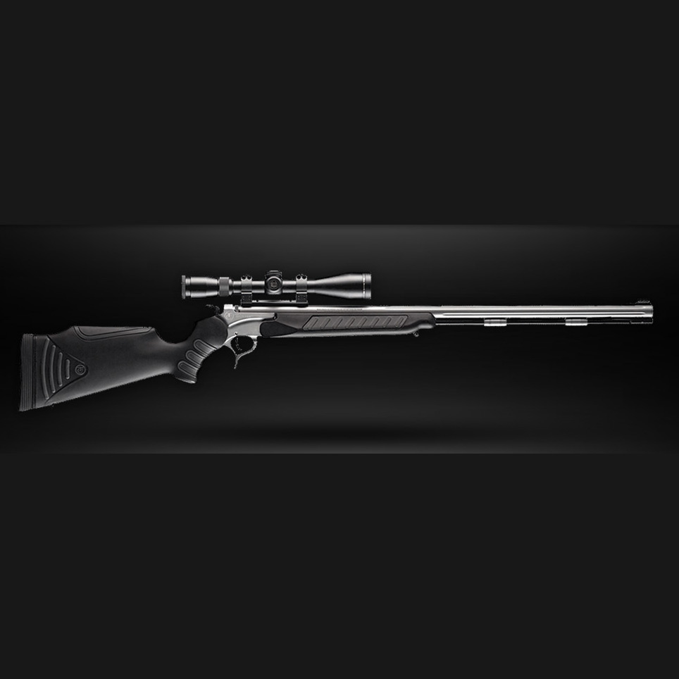 "T/C ENCORE®PRO HUNTER™XT   Model #:  28205722 | Finish/Stock : Stainless Steel/Black Stock | Caliber : .50 | Barrel Length : 28"" | Overall Length : 42.5"" | Capacity : Single Shot  Model #:  28205724 | Finish/Stock : Stainless Steel/AP Camo Stock | Caliber : .50 | Barrel Length : 28"" | Overall Length : 42.5"" | Capacity : Single Shot  Model #:  28205744 | Finish/Stock : Weather Shield/Black FlexTech Stock | Caliber : .50 | Barrel Length : 28"" | Overall Length : 42.5"" | Capacity : Single Shot  Model #:  28205743 | Finish/Stock : Weather Shield/FlexTech Camo | Caliber : .50 | Barrel Length : 28"" | Overall Length : 42.5"" | Capacity : Single Shot"