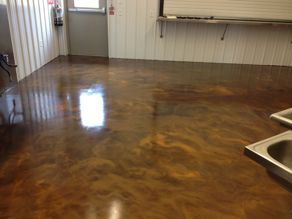 Cracking Epoxy Floor Paint