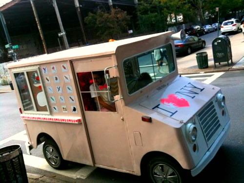 ice cream taco truck