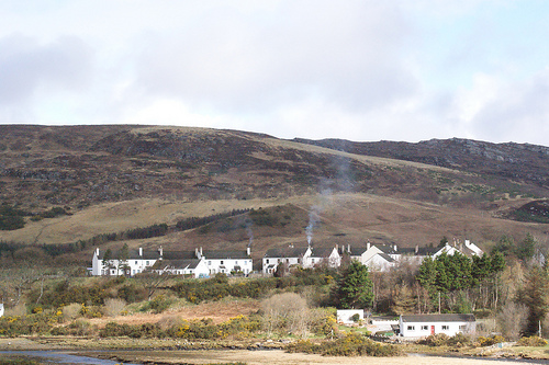 Ullapool is a small town of around 1,300 inhabitants in Ross and Cromarty, Highlands, Scotland.