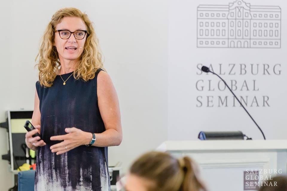 Naja Nielsen, Keynote Speaker at the 2018 Salzburg Media Academy on Media & Global Change