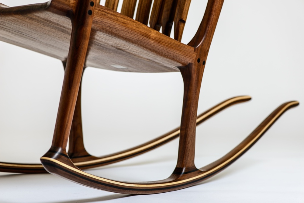 Maloof Inspired Rocking Chair
