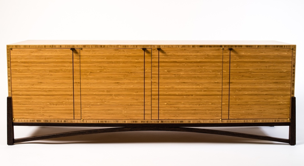Nice Bamboo U0026 Wenge Cabinet