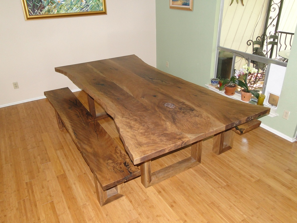 Charmant Live Oak Table U0026 Benches