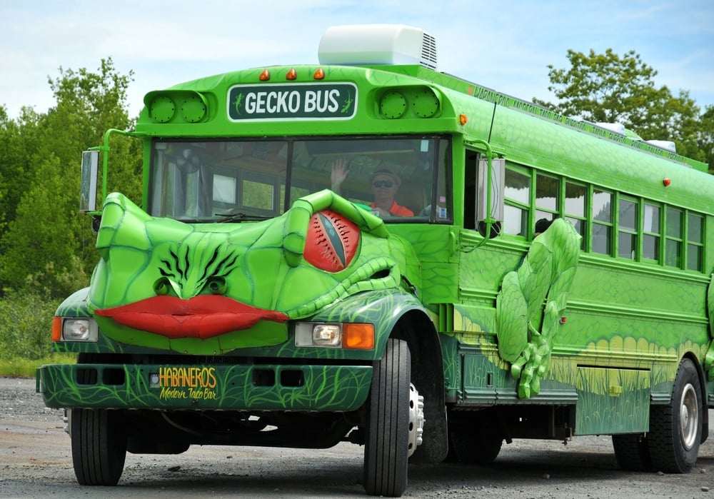 Gecko Bus, Canada's Freakiest Food Truck!