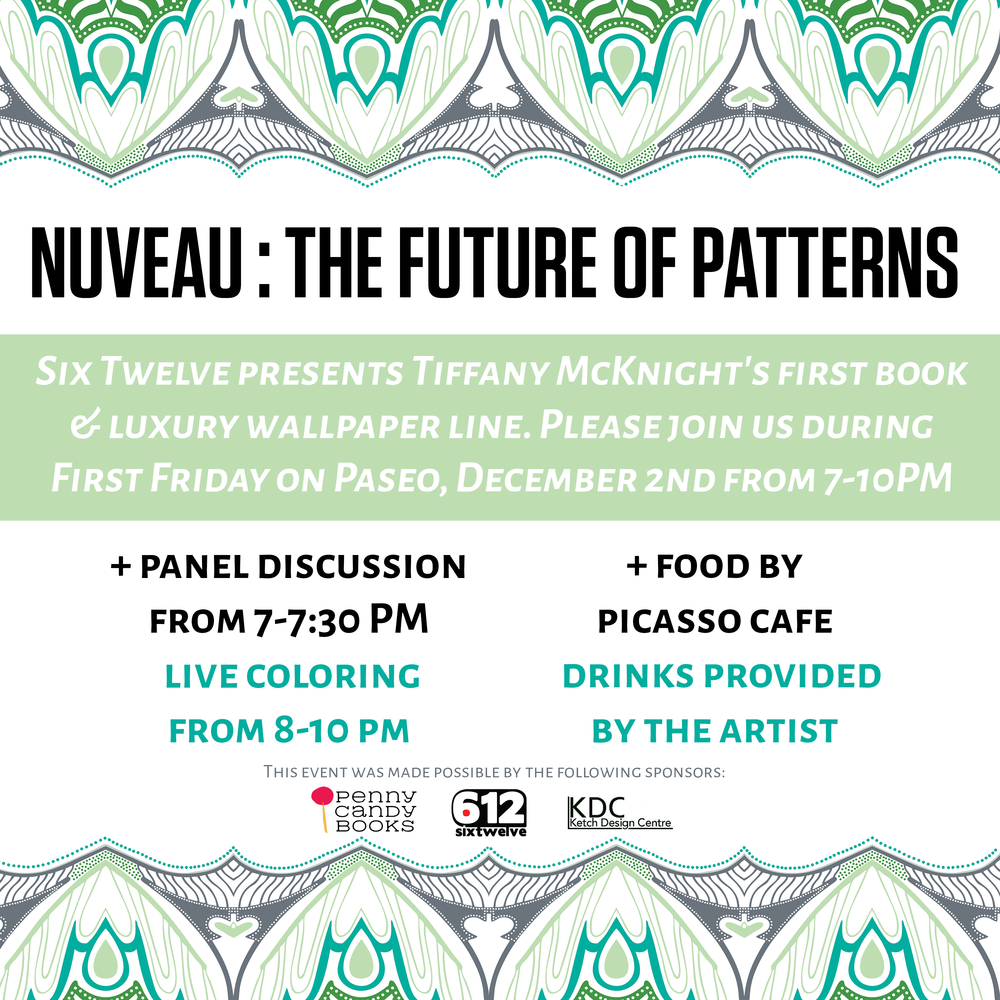 tiffany mcknight s nuveau the future of patterns penny candy books