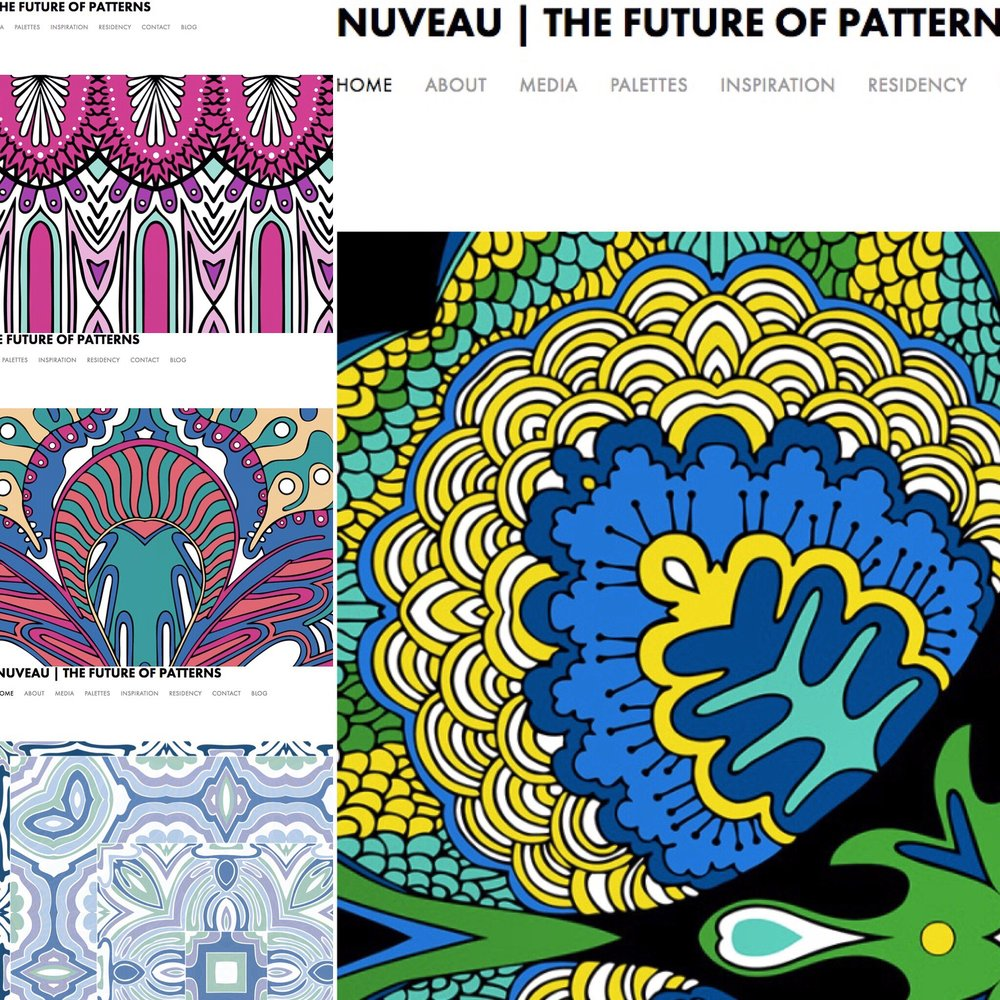 Check out  NUVEAU's  website! Palettes, inspiration, media, & more at  nuveaucoloringbook.com .