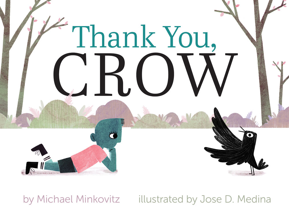 The front cover for Thank You, Crow