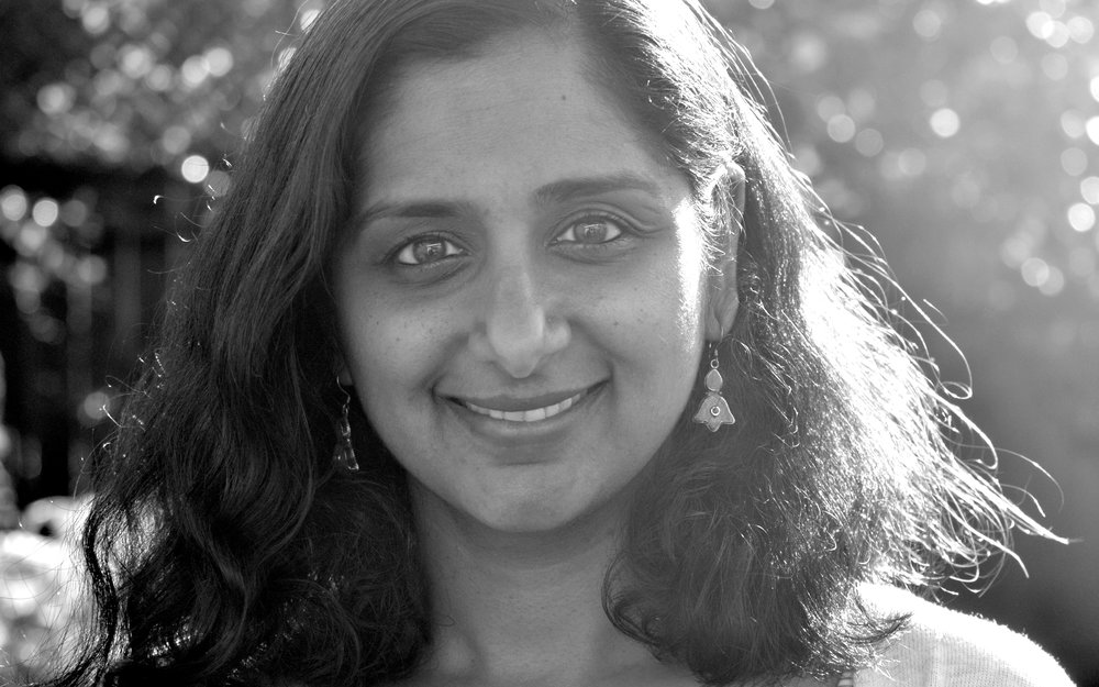 MEERA SRIRAM - Meera grew up in India and moved to the U.S at the turn of the millennium. An electrical engineer in her past life, she now enjoys writing for children and advocating early and multicultural literacy. Meera has co-authored several books published in India and The Yellow Suitcase. She believes in the transformative power of stories and writes on cross-cultural experiences that often take her back to her roots. Meera loves yoga and chai, and lives with her husband and two children in Berkeley, California, where she fantasizes about a world with no borders.https://meerasriram.comphoto by Sriram Gopalakrishnan