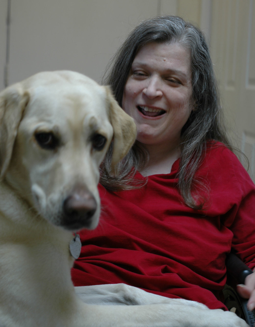 Molly Felder - Molly , the author of Henry the Boy, has a physical disability called cerebral palsy. Her assistance dog, Patterson, was placed with her through Canine Companions for Independence. He helps her by opening doors, turning lights on and off, and much more. In 2016, they attended the Highlights Foundation Kid's Book Revision Retreat together in beautiful Honesdale, Pennsylvania. Molly received her M.A. from New York University's Gallatin School of Individualized Study, where she focused on creative writing and disability culture. She is committed to representing children of all abilities in her writing, and loves teaching English to Chinese students online. She lives in Alabama.photo by Jim Felder