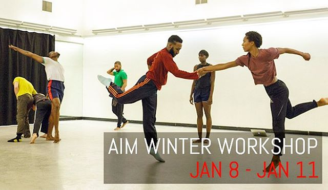 Join AIM for our first annual winter intensive at NY City Center! Drop in classes are welcome too!  Check out more : link in bio!  (at New York City Center)