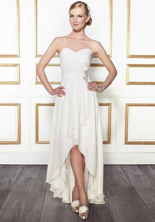 Chiffon High-Low Gown — Blush Bridal & Formal