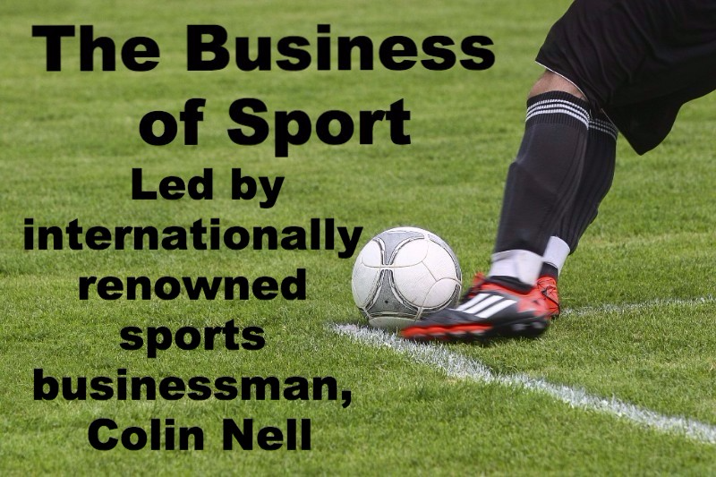 Colin Nell – Sport as a Business Colin is an internationally renowned sports businessman who runs a number of successful companies. Initially spotted by Nike and employed as a professional football freestyler by companies across the world, Colin now runs businesses involved in advertising, motivational speaking, football freestyling and coaching.
