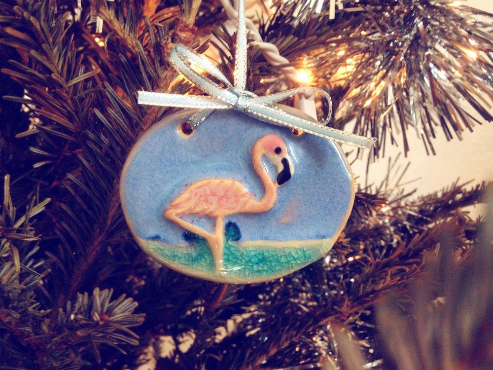 Handmade ornament from  Paradise Arts