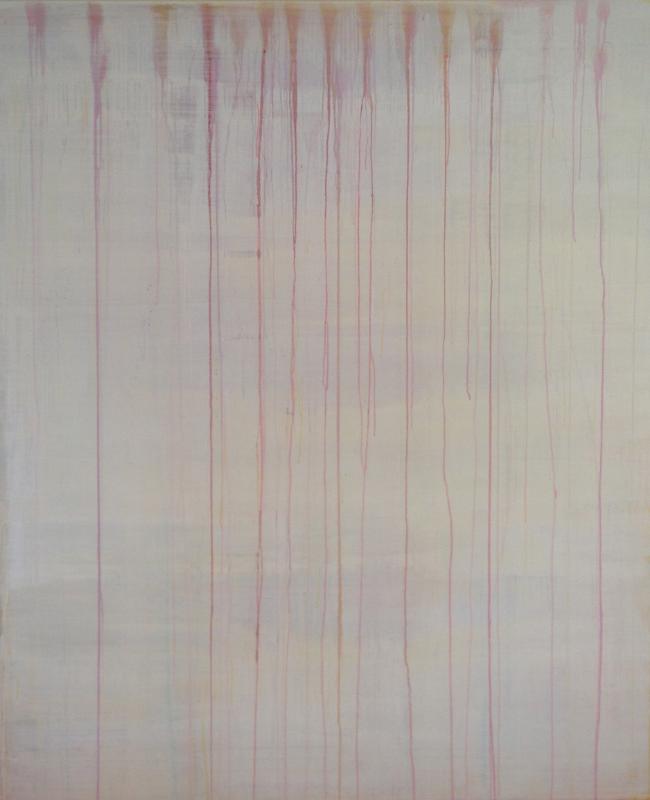 """Line dance, Acrylic on Canvas, 87"""" X 72"""""""