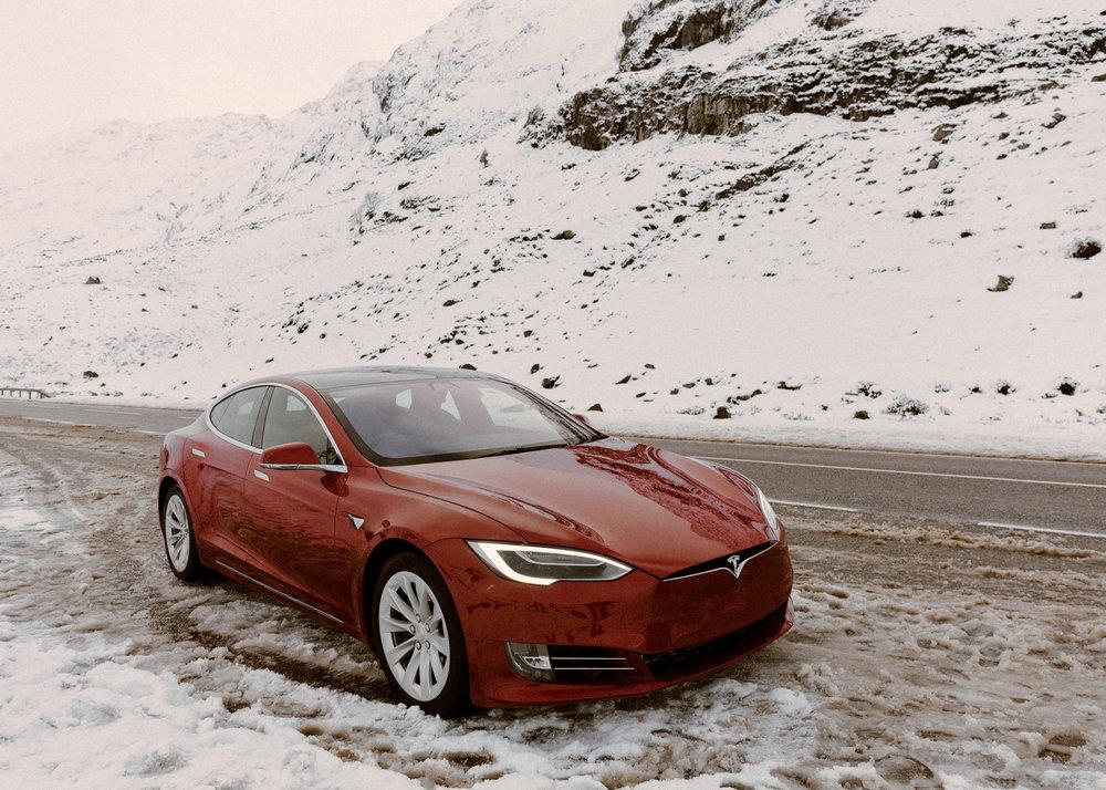 Tesla X DVSN