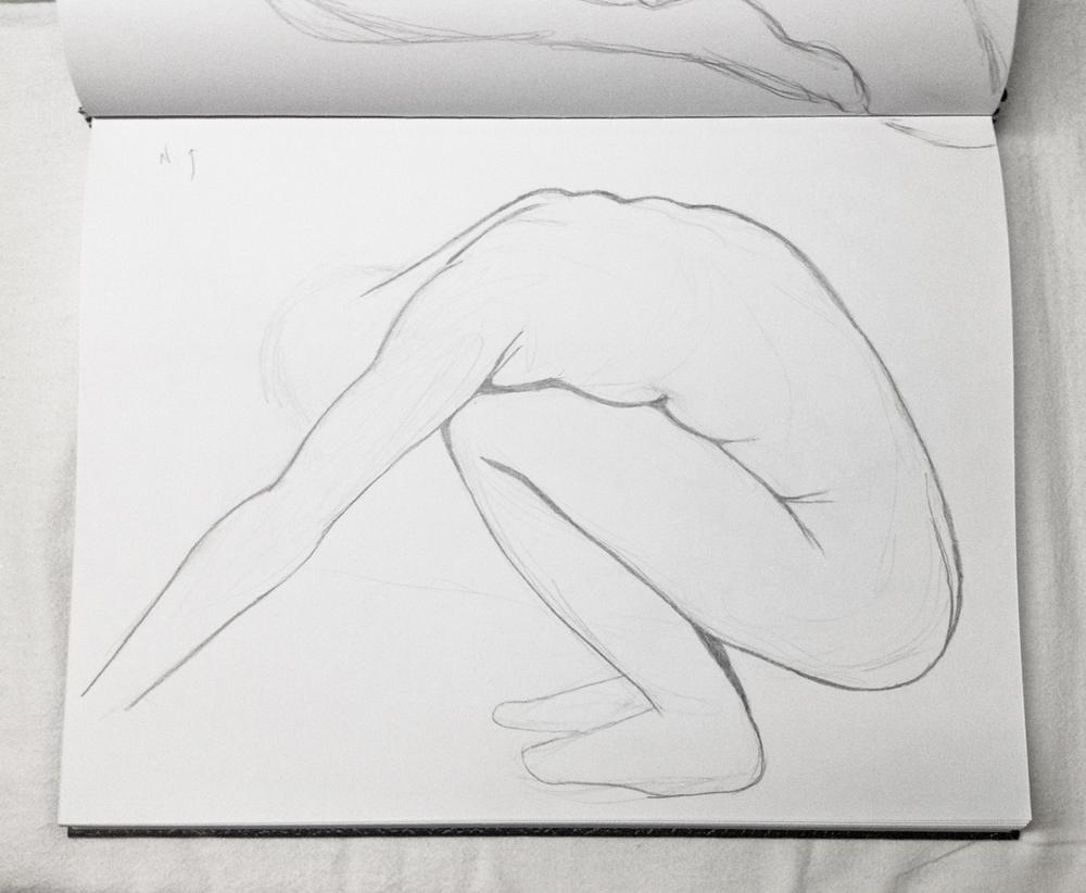 nude study  c. 2015
