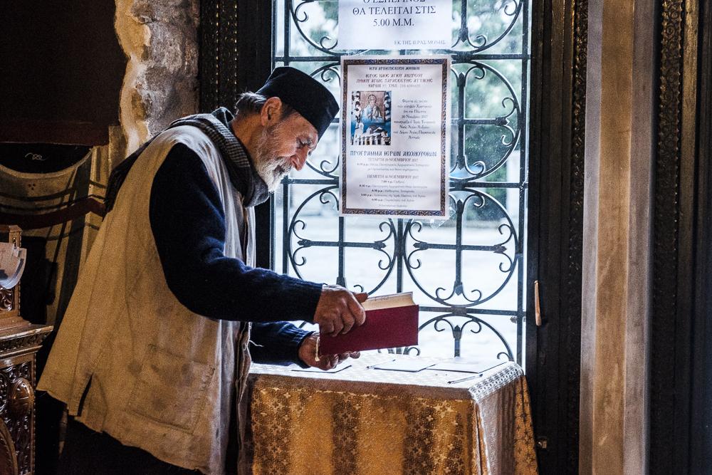 Priest at Pentelli Monastery web.jpg