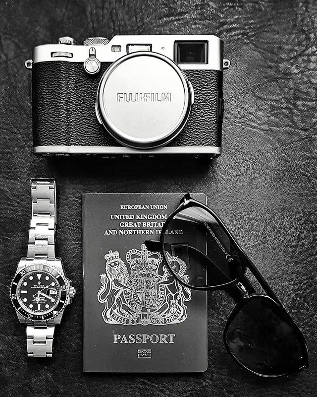 Travel light. #fujifilx100f #rolexsubmariner #tomfordsunglasses #traveladdict #travelphotography #framedplanet #mattwidgery #condenast