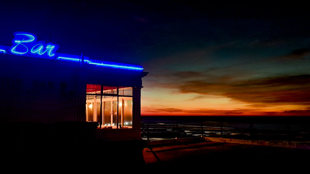 The waterside bar, Hunstanton taken with the Samsung Galaxy S8