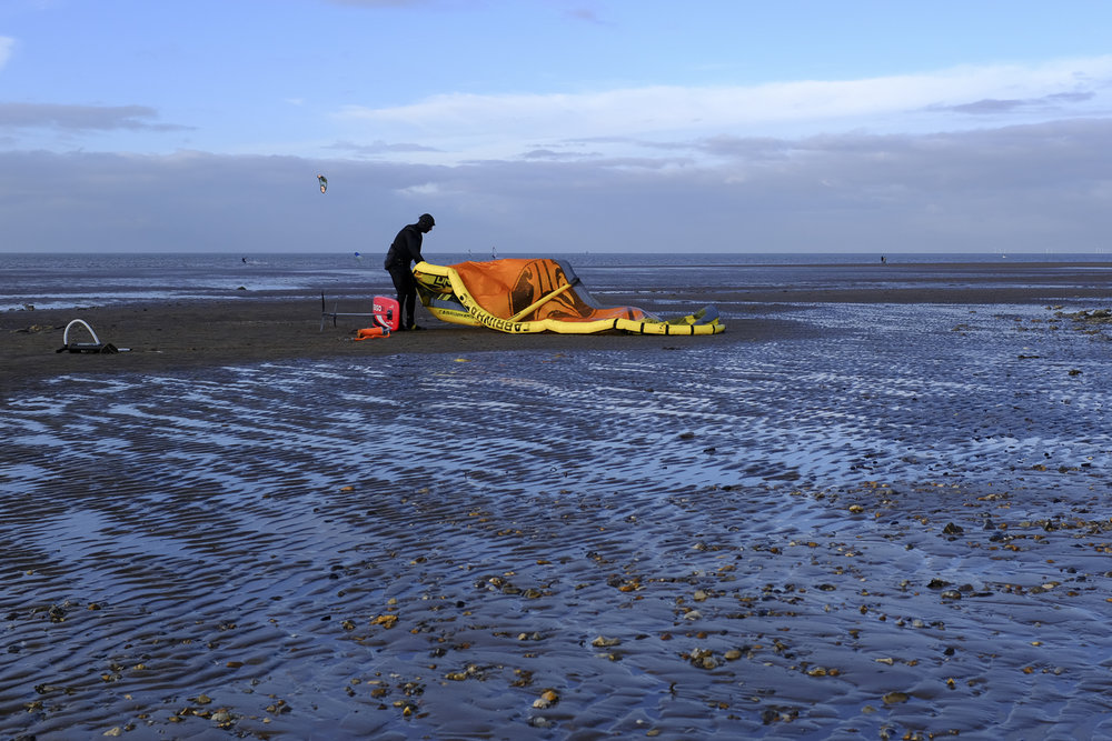 Windsurfer at Hunstanton