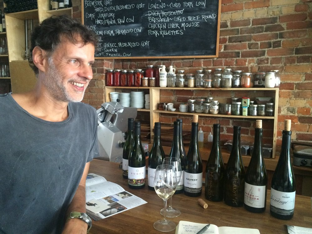 Robert Gilvesy and his wines of Lake Balaton, Hungary