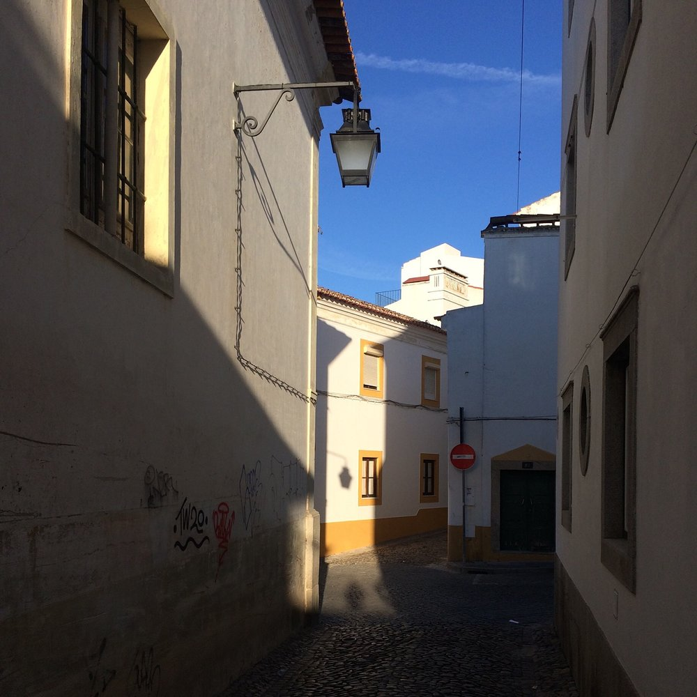 The Streets of Evora
