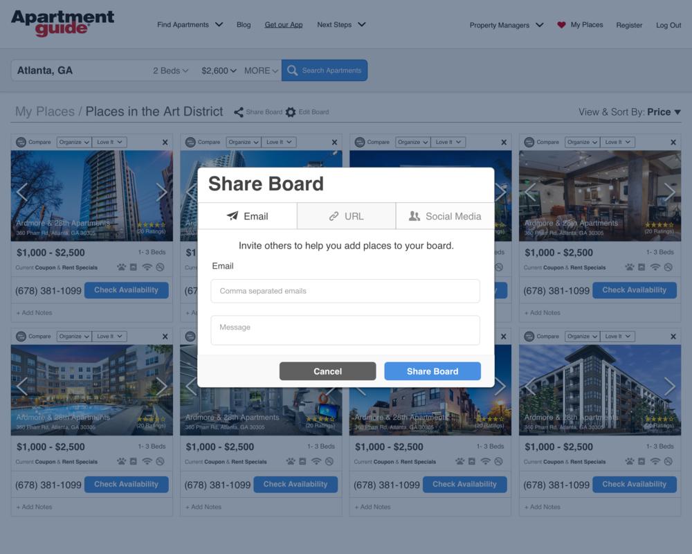 Share Board