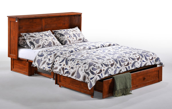 Clover murphy cabinet bed with comfort bedding.jpg