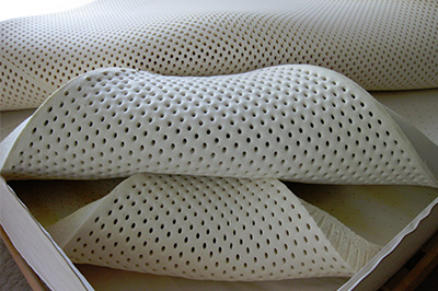 Natural or organic latex mattress toppers