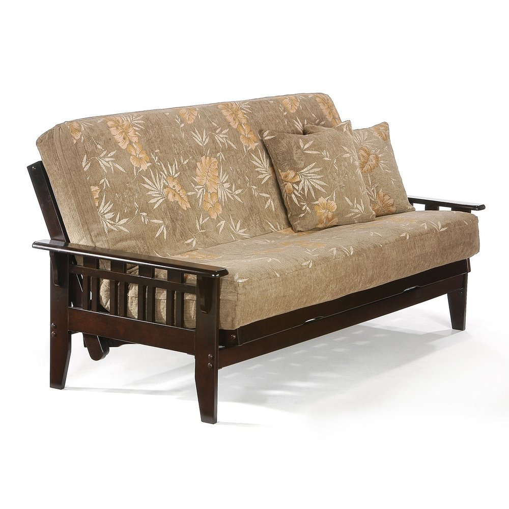 dark choclolate night  u0026 day futon frames  u2014 amy u0027s casual  fort on 6th  rh   casual fortfutons