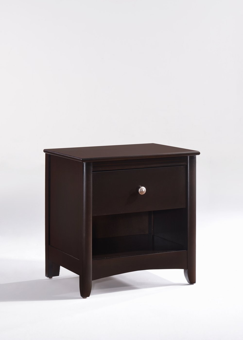Secrets Nightstand Dark Chocolate Metal Knobs.jpg