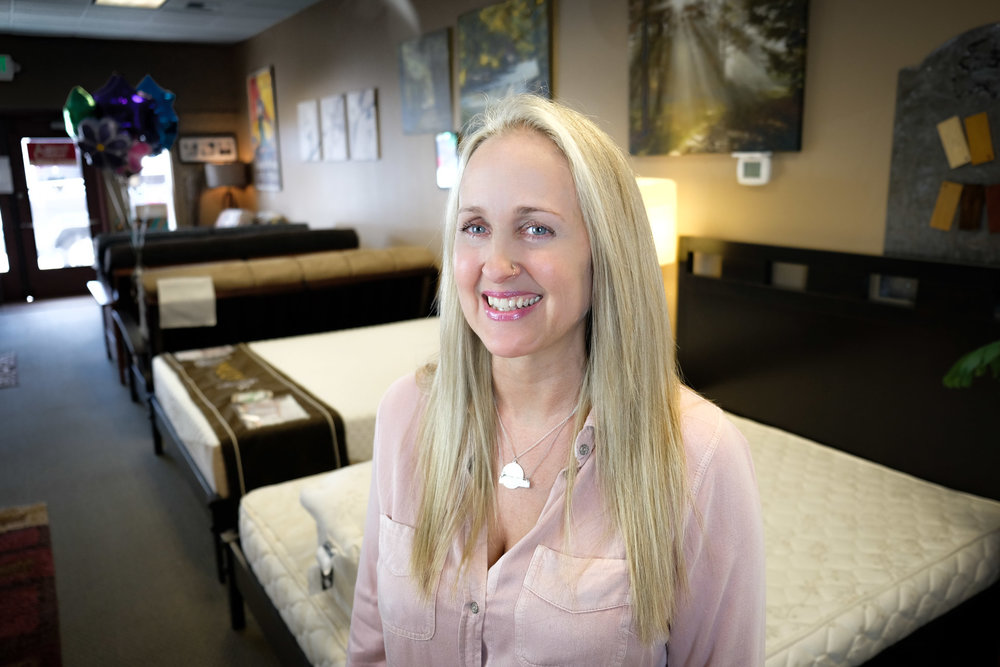 Amy - Visit the show room and get expert advise from one of Tacoma's leading mattress experts!253-302-4648
